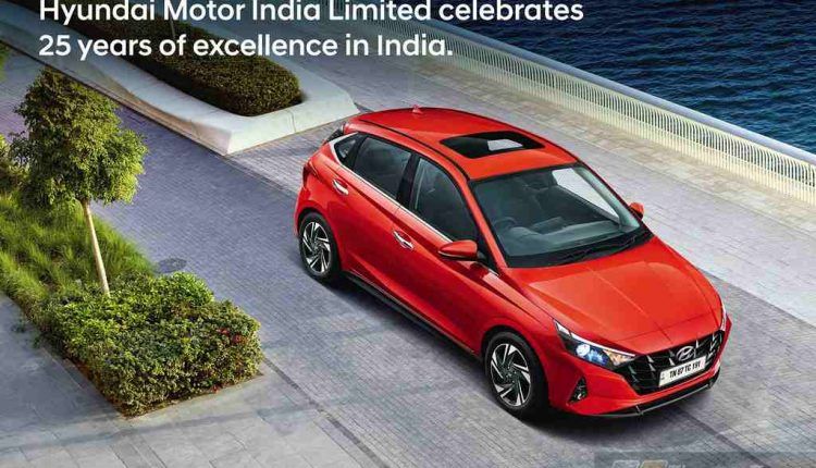 Hyundai Completes 25 Years in India