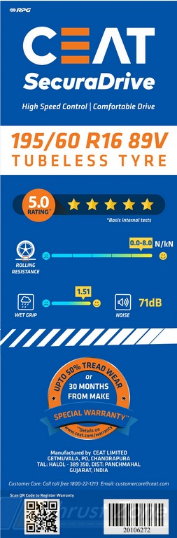 Label Rated Car Tyres (1)