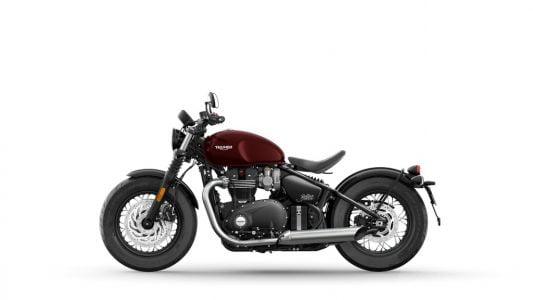 2021 Triumph Bonneville Bobber India