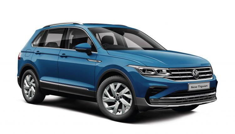 2021 Volkswagen Tiguan Facelift 5-Seater TSI
