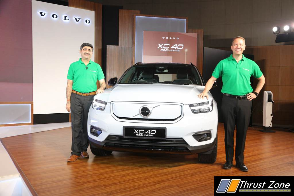 2021 Volvo XC40 Recharge Ready For Launch in India (3)