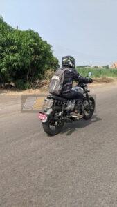 Jawa Or Yezdi Scrambler Style Motorcycle Spotted Testing (2)