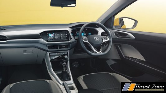 Production-Spec All New Volkswagen Taigun Interior