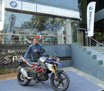 Mr. Sudarshan Ponraj, Dealer Partner, JSP Motorrad BMW Motorrad