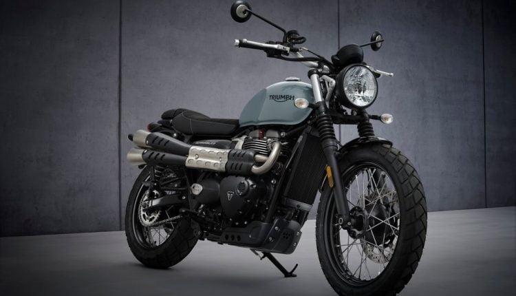 2021- india-Triumph Street Scrambler