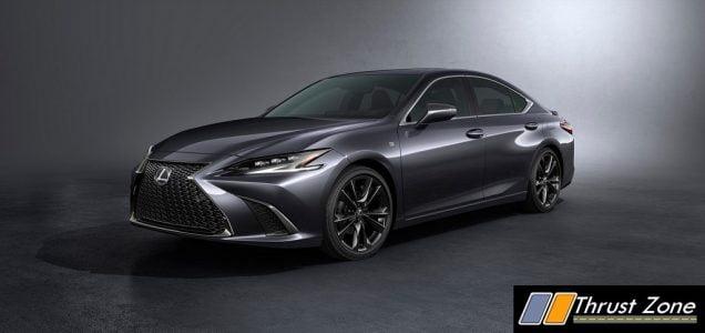 2022 Lexus ES Facelift India (1)