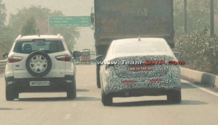 New-Skoda-Sedan-Spied-rear