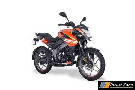 Bajaj Pulsar NS 125 - Orange (4)