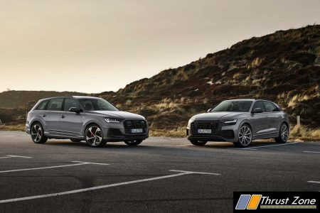 Audi Q7 competition plus and Audi Q8 competition plus
