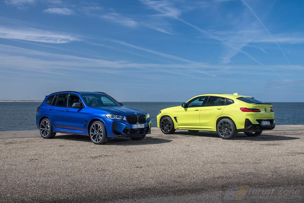 2022 BMW X3M and X4M Competition