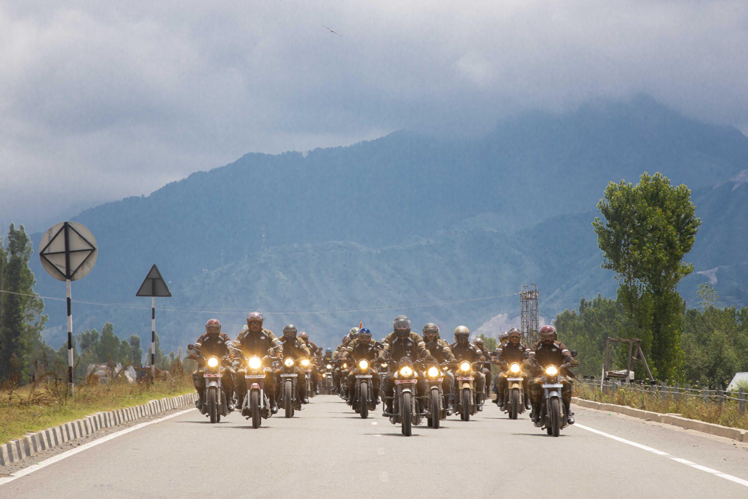 Jawa Motorcycles' Dhruva Kargil Ride in partnership with the Indian Army from Udhampur to Kargil War Memorial, Drass - 4