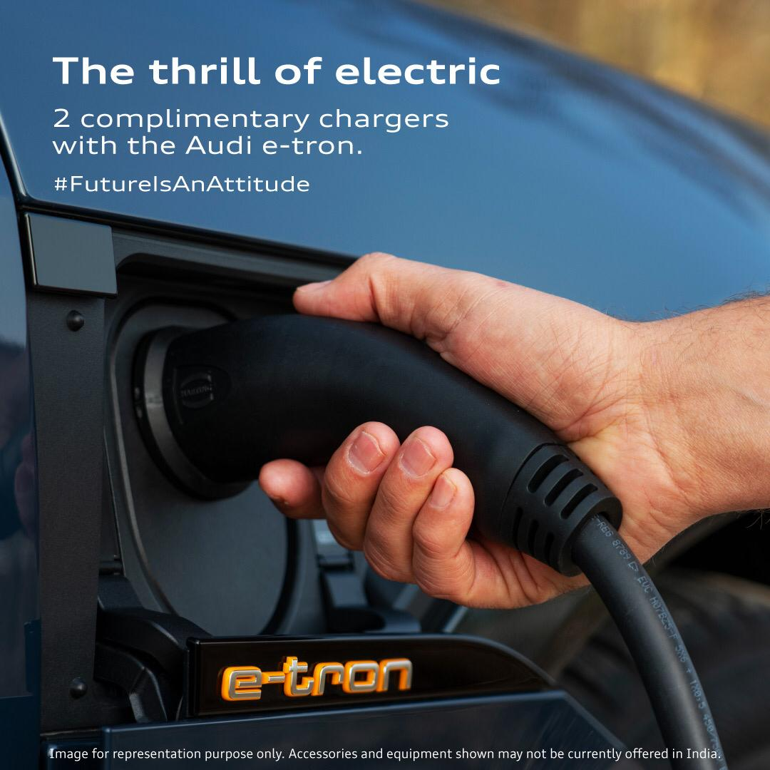 Slew of Charging Options For Audi E-Tron In India Revealed