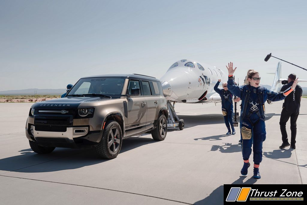 LAND ROVER VIRGIN GALACTIC'S FIRST FULLY CREWED SPACE FLIGHT - 1