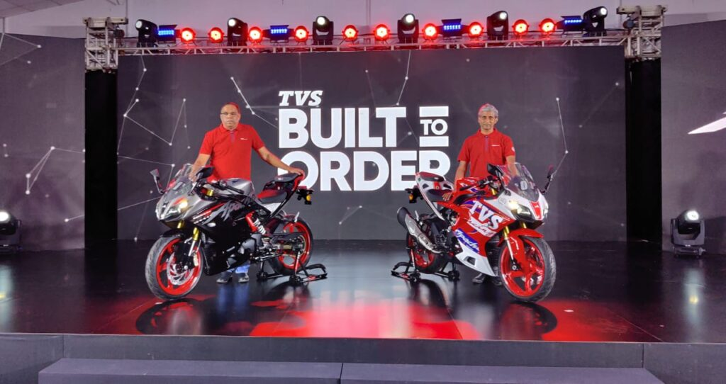 2022 TVS Apache RR310 Revealed With Race and Dynamic Kits!