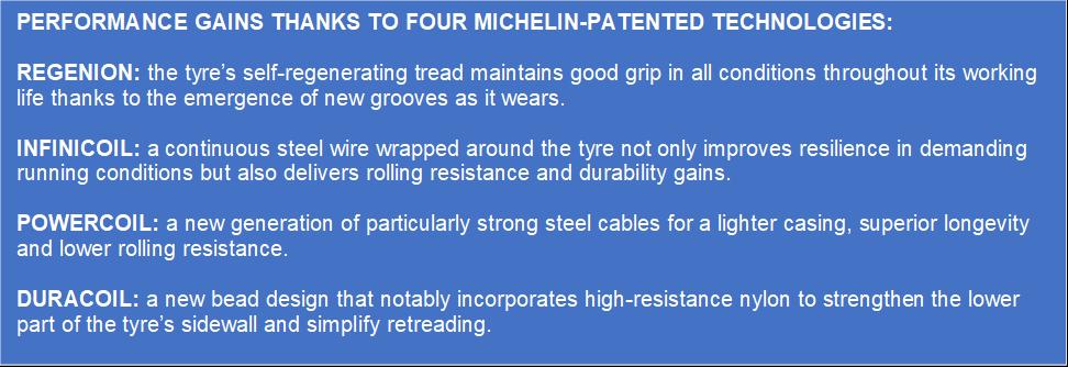 Michelin today announced the launch of MICHELIN 295/ 80R22.5 X® MULTI™ Z2