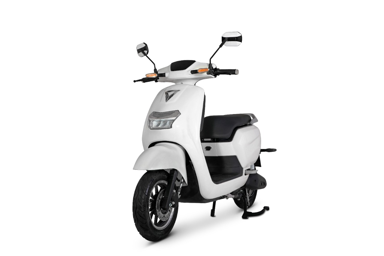 Omega Seiki Mobility Pvt. Ltd. (OSM), part of Anglian Omega Group of companies, today unveiled its first two-wheeler electric scooter ZORO and FIARE (3)