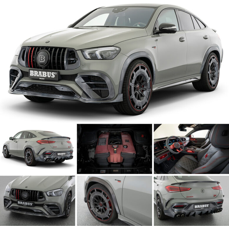 BRABUS 900 ROCKET EDITION Mercedes-AMG GLE 63 S 4MATIC+ Coupe Is Surreal!