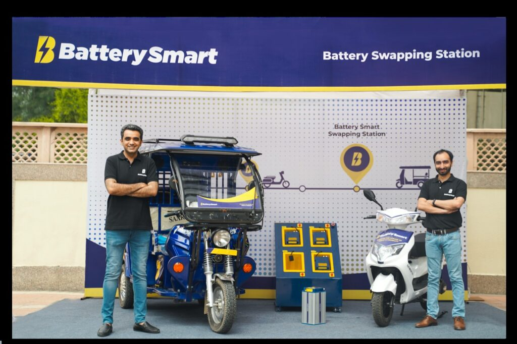 Battery Smart Inaugurates 100th Swap Station in Delhi-NCR