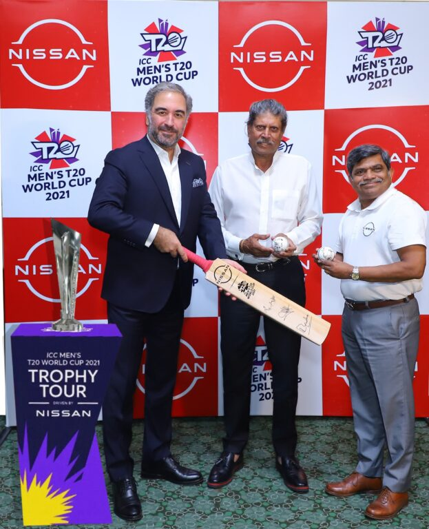 Nissan Magnite Official Car of ICC Men's T20 World Cup 2021