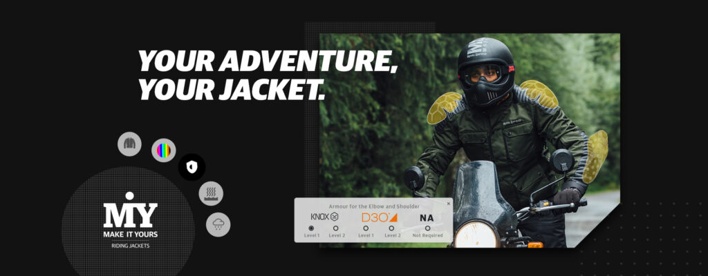 Riding Jacket Customization Begins Under Royal Enfield's 'Make It Yours' Initiative