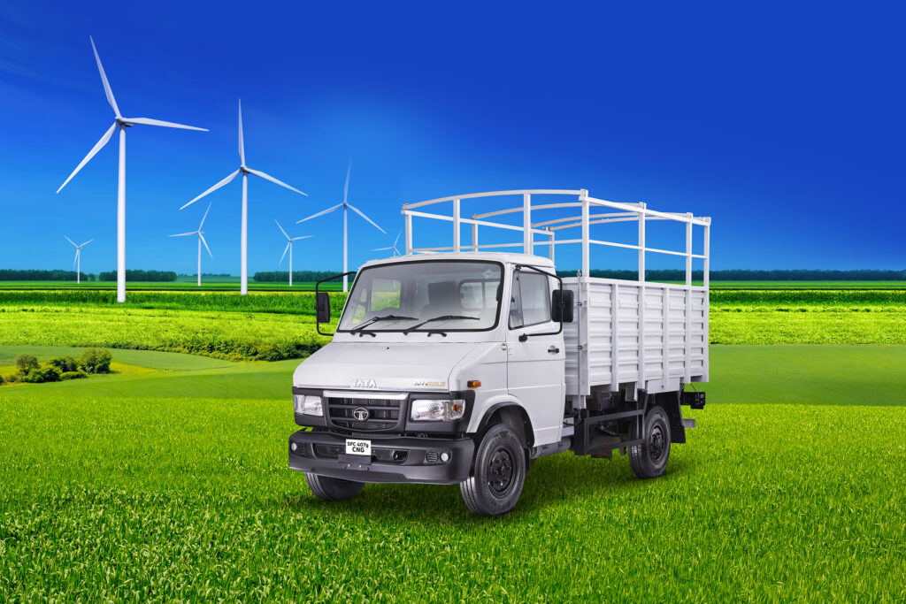 Iconic Tata 407 Gets A CNG Option - Launched in India