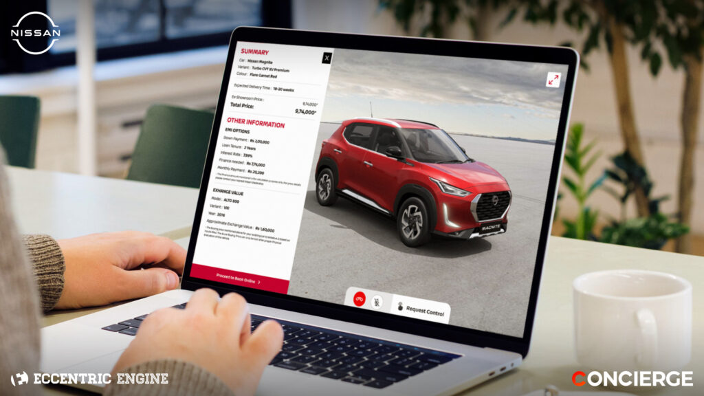 Virtual Sales Advisor for Nissan Magnite Customers Launched (1)
