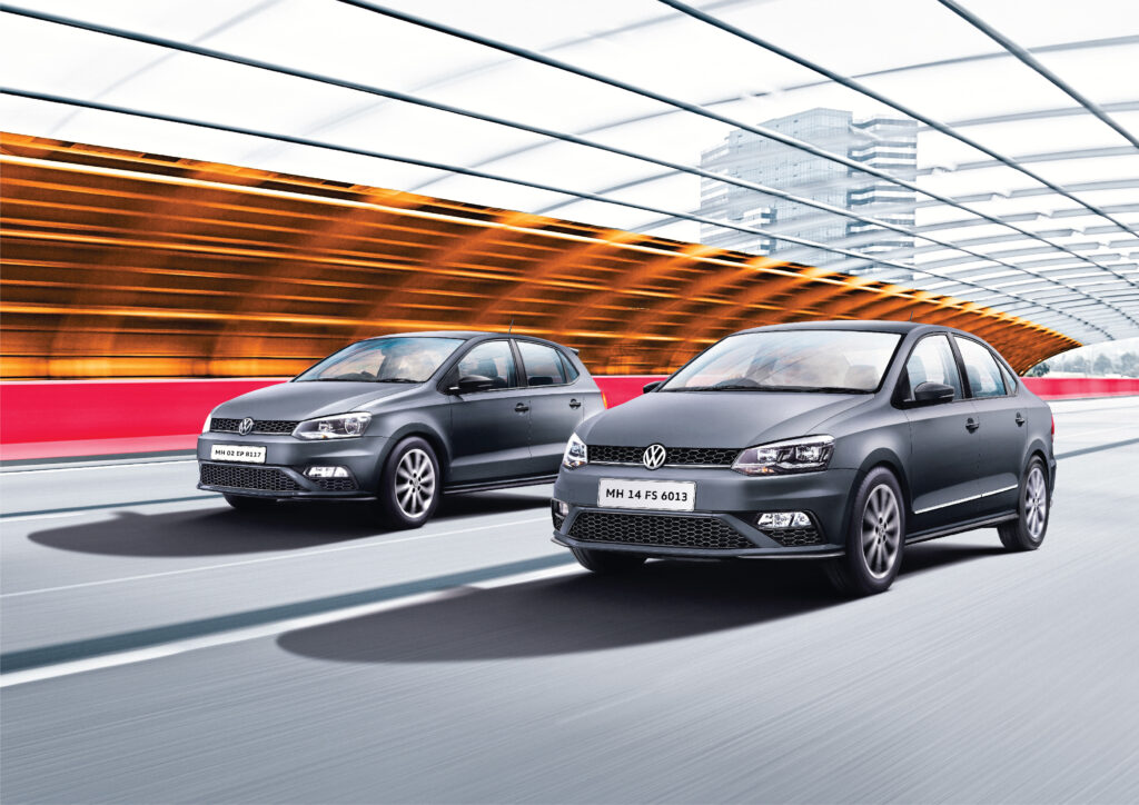 Limited Matte Edition Of Volkswagen Polo and Vento Launched in India
