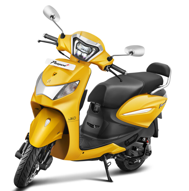 Premium Hero Pleasure+ 110 XTec Launched With More Features! (2)