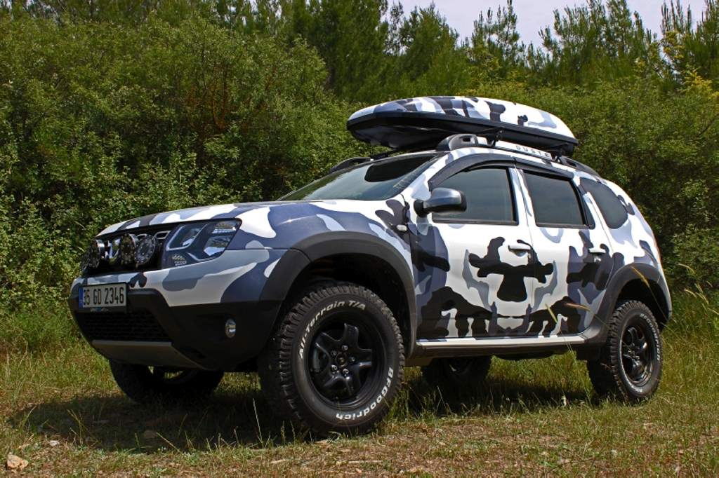 Renault Duster Customized Inside Out And Is Painted With ...