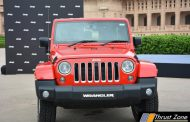 Jeep Wrangler Unlimited Petrol 3.6-litre Pentastar V6 Motor Launched In India