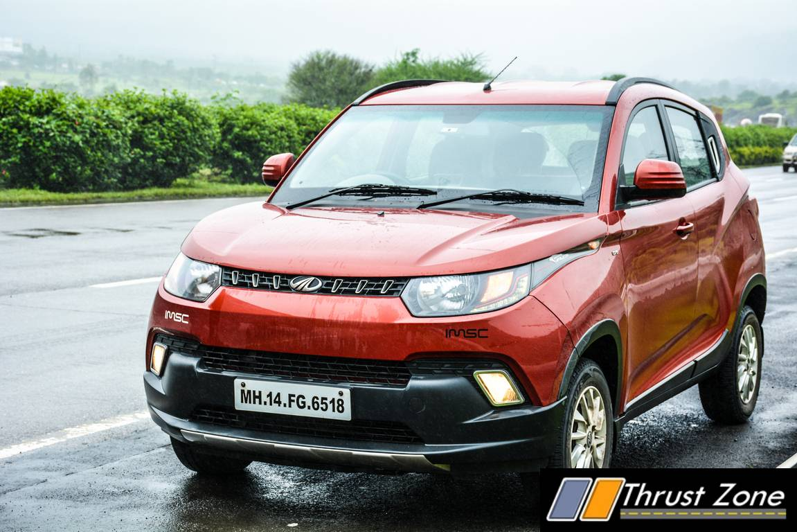 2017 Mahindra KUV 100 CNG Variant Spied testing, Could Help Boost Sales