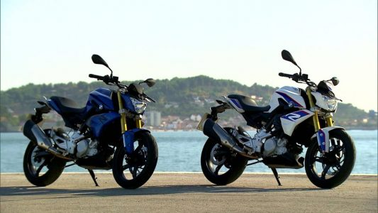 BMW G310R Spied India