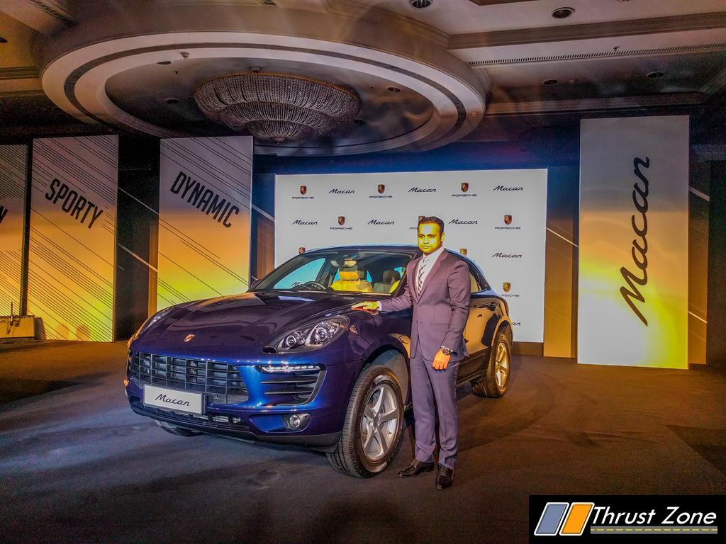 2016 Porsche Macan Petrol India Details Here Launched At Rs 76 84