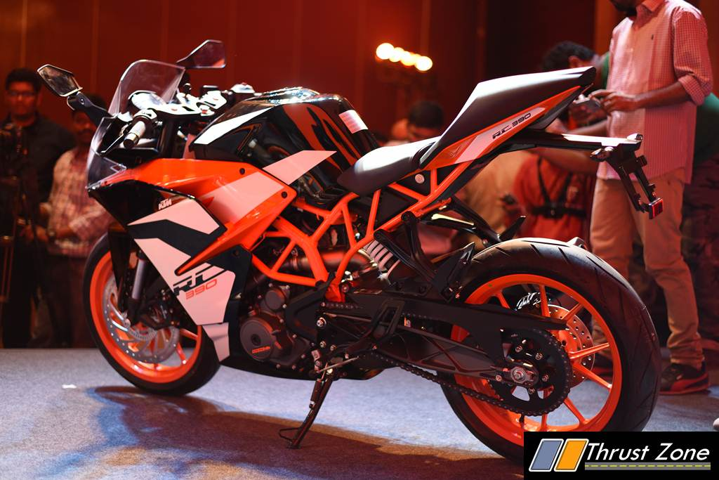 2017 Ktm Rc390 Launched At Rs 2 25 Lakhs Continues To Power Pack And Feature Loaded