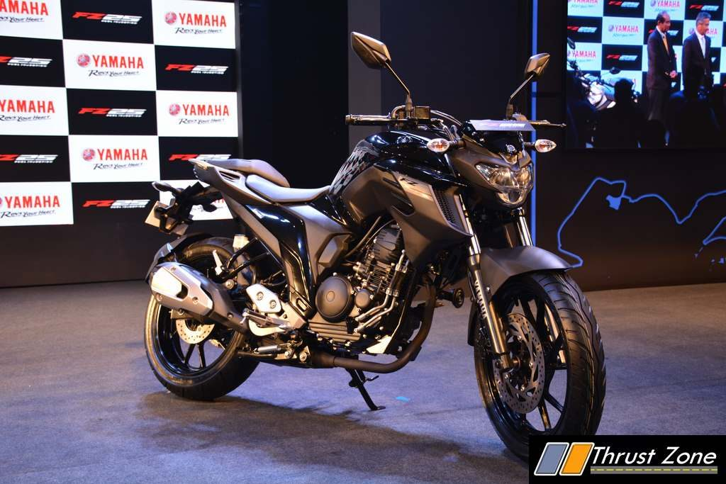 Yamaha Fz25 Launched In India At Rs 1 19 Lakhs