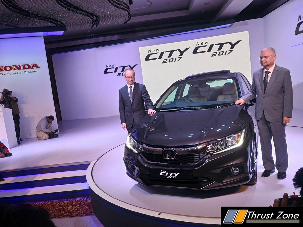 2017 Honda City Facelift Launched in India at Rs. 8.50 Lakhs