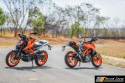 2017 KTM Duke 390 Review, First Ride - Zügig Fügsam