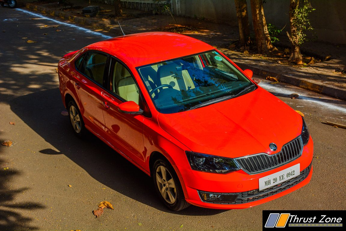 skoda rapid review price specifications mileage. Black Bedroom Furniture Sets. Home Design Ideas