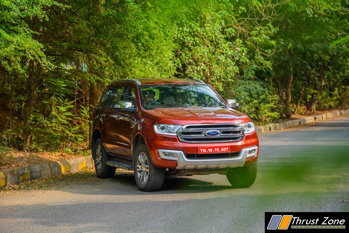 2018 Ford Endeavour Sunroof Wish Full Filled By Manufacturer Know
