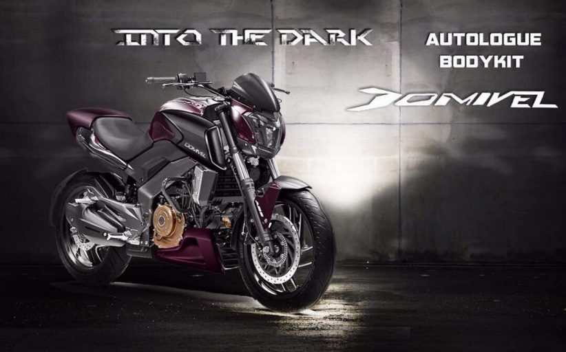 Dominar Domviel Kit By Autologue Has Four Things To Make It Look Like The Ducati Diavel!!