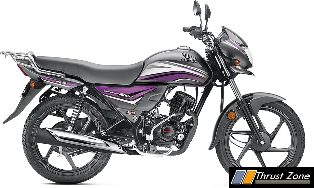 2017 honda dream neo bsiv with aho launched new colors