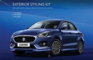 2017 Maruti Suzuki Dzire Accessory List Is Here and It Is Good and Comprehensive!