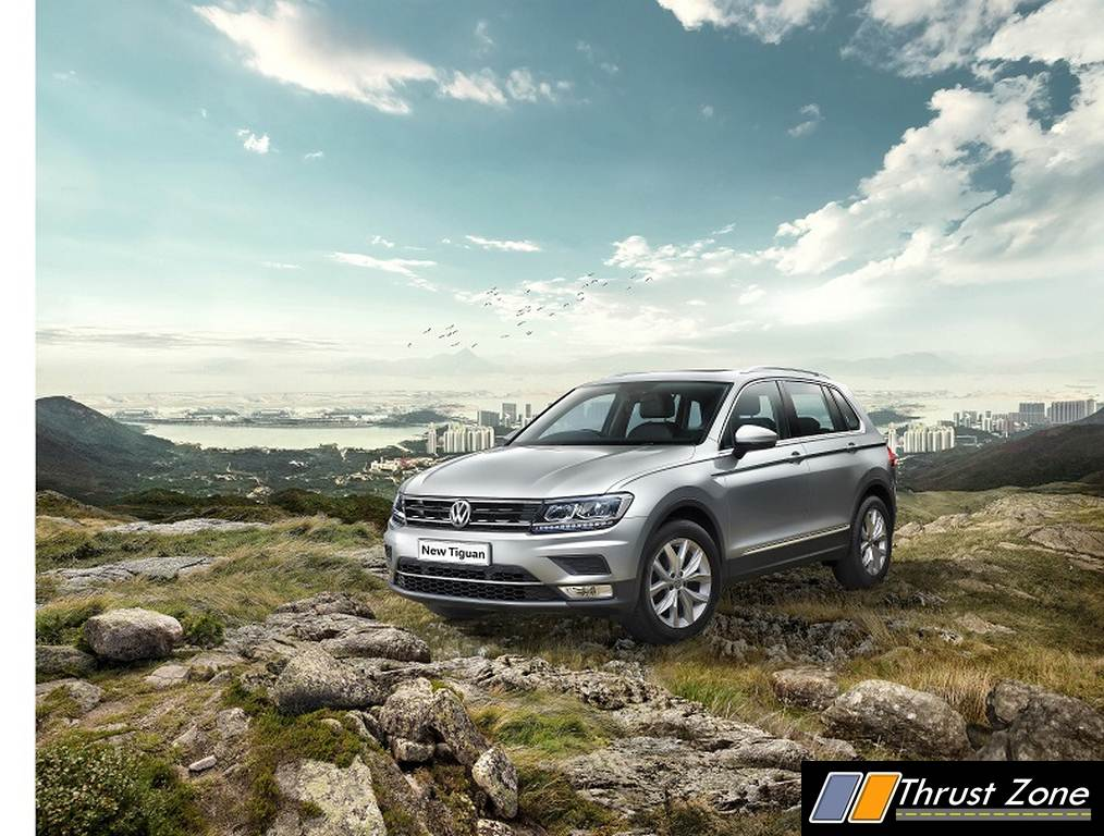 vw tiguan india details here as it has been finally launched prices begin from rs lakhs. Black Bedroom Furniture Sets. Home Design Ideas