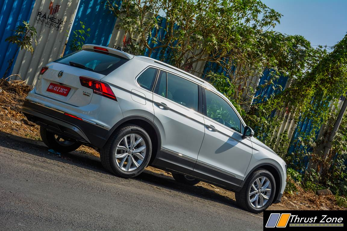 2017 volkswagen tiguan india review first drive. Black Bedroom Furniture Sets. Home Design Ideas