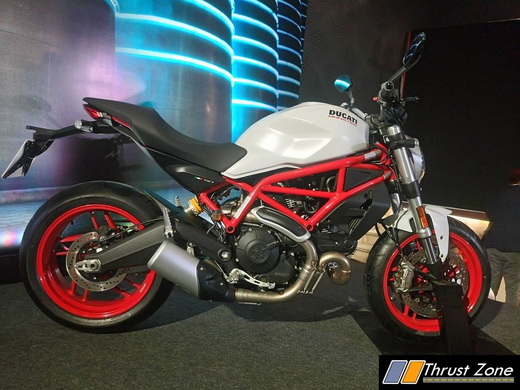 40de4441eef Ducati Monster 797 India Details Here – Launched At Rs. 7.7 Lakhs  Post GST  Prices