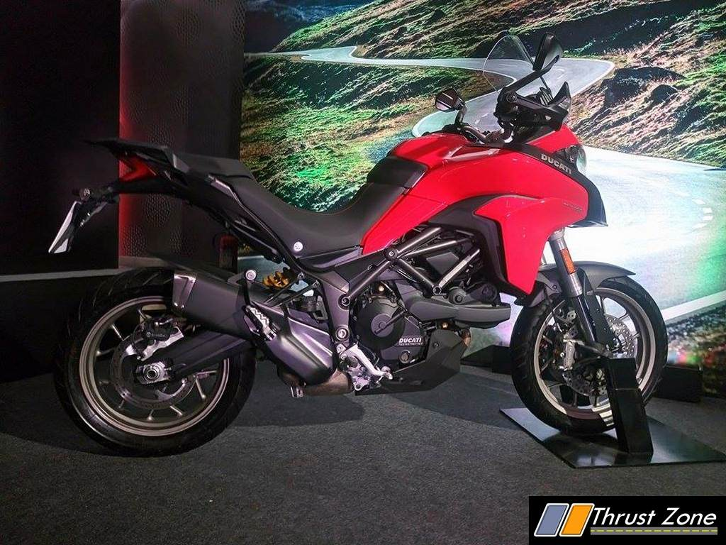 ducati multistrada 950 india details here launched at rs 12 6 lakhs post gst prices. Black Bedroom Furniture Sets. Home Design Ideas