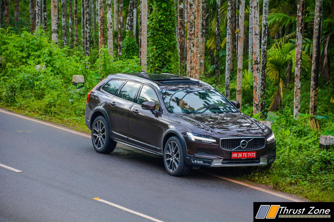volvo v90 cross country india review first drive. Black Bedroom Furniture Sets. Home Design Ideas