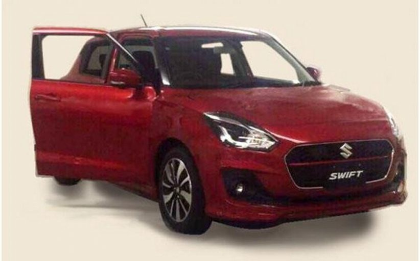 2017 India Suzuki Swift Spied, Images and Other Details Here!